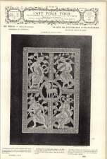 1882 Four Rivers Of Paradise Paschal Lamb Museum Cluny Paris