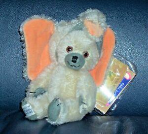 """New 6"""" Merrythought Cheeky Little Elephant Mohair Teddy Bear Ltd Ed #113 of 250"""