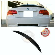 BMW 07-13 PERFORMANCE REAL CARBON FIBER TRUNK SPOILER FOR E92 COUPE *US SELLER*
