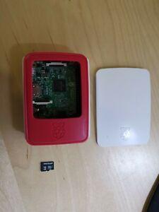 Raspberry Pi 3 Model B (1 Go, Broadcom BCM2837, 1,20 GHz) Mini PC + 16Go