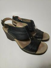 Hush Puppies Leather Sandals Womens sz 8
