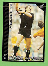 1995 NEW ZEALAND  ALL BLACKS RUGBY UNION CARD  #24  MICHAEL  JONES
