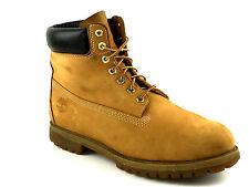 Timberland Men's Nubuck Leather 6 Inch Waterproof Boots Wheat Size 13 USA.