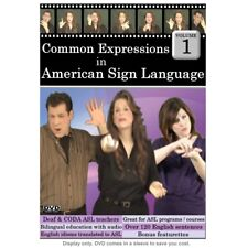 Common Expressions in American Sign Language, Vol. 1 DVD
