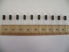 10 piezas Sub Miniatura Condensador electrolítico Radial 16v 10uF 4*7mm 2.5mm Pit CB06