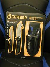 Gerber 3 pc Moment Field Dress Kit Knife Set Nib