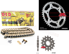 Triumph 865 Speedmaster Heavy Duty DID Gold X-Ring Chain /& JT Sprockets Kit Set