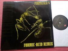 """Formicula 4 / Formic Acid Remix 12"""" Maxi Vinyl 1992"""