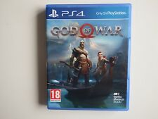 God of War on PS4 in MINT Condition