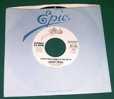 CHEAP TRICK - Everything Works If You Let It (45 RPM Single) VG+