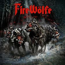FIREWÖLFE - We Rule The Night CD 2014 + Free CD Hurricane Masi