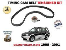 Per SUZUKI GRAND VITARA 2.0 DT TD32 RF 1997Cc 8/1998 - 3 NUOVI Timing Belt Kit