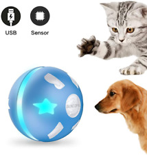 Interactive Dog/Cats Ball Toys Durable Motion Activated Automatic Rolling Ball