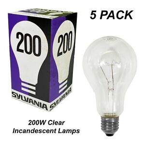 2 x 240V 35W Architectural Lamps 300mm x 30mm Globes Linear Tube Incandescent