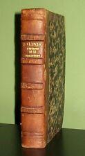 1847 - Précis de l'Histoire de la Philosophie - FILOSOFIA - SALINIS - SCORBIAC