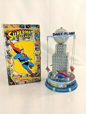 Superman Classic Tin Carousel Toy Warner Bros 2001 Krypto Supergirl Streaky Used