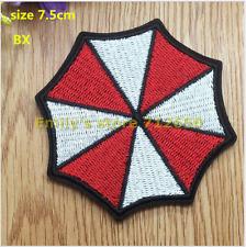 patch toppa ombrello patch toppe Resident Evil Umbrella ricamate termoadesiva