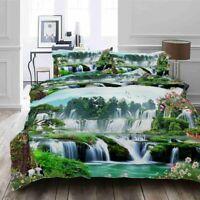 Terrace Cross Fall 3D Printing Duvet Quilt Doona Covers Pillow Case Bedding Sets