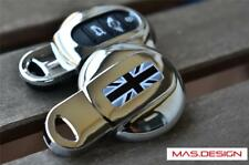 Chrome key case for 2014 on MINI COOPER F54 F55 F56 F57 F60 in Black Jack Style
