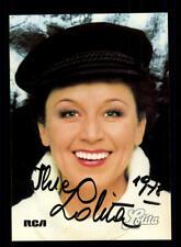 Lolita Autogrammkarte Original Signiert ## BC 147033