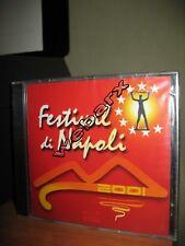 FESTIVAL DI NAPOLI 2001 CD NUOVO SIGILLATO COMPILATION ROSSA