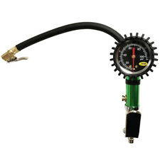 Tyre Inflator Pump With Pressure Gauge For Airline Hose 0-100PSI / 0-7BAR
