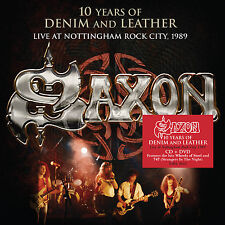 Saxon - 10 Years of Denim and Leather Live at Nottingham Rock City 1989