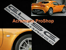 """2x 6"""" 15.2cm Elise Supercharged Decal Sticker Lotus SC S R Sport Cup 111R S1 S2"""