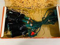 COCA COLA 10 LIGHT STRING SET  - 1993 - 5 BOTTLES AND 5 REGULAR LIGHTS