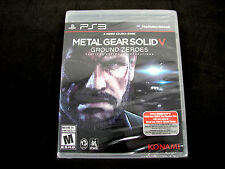 Metal Gear Solid V: Ground Zeroes Sony PlayStation 3 PS3 ***BRAND NEW, SEALED***