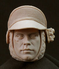 Luke Skywalker wounded HOTH RESIN HEAD SCULPT STAR WARS 1/6 scale. 12""