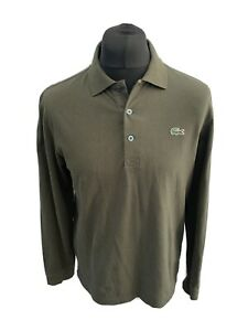 Mens Lacoste Long Sleeve Polo Shirt Size M (4)