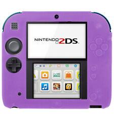 Nintendo 2 DS Housse étui silicone souple mat Housse De Protection Cover Couverture Anti-Chocs Violet
