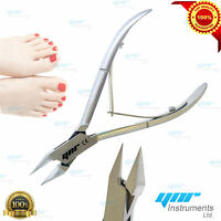 YNR INGROWN Toe Nail Clippers Nippers Cutters Flame Point Podiatry Instrument 5