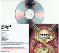 THE DARKNESS Last Of Our Kind 2015 UK numbered 10-track promo test CD