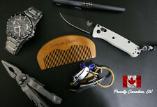 Hand Crafted Sexxxy and Bearded Wood Beard, Mustache and Hair Comb / EDC Comb