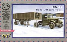 PST 1/72 ZiS-10 Tractor with Semi-Trailer # 72063