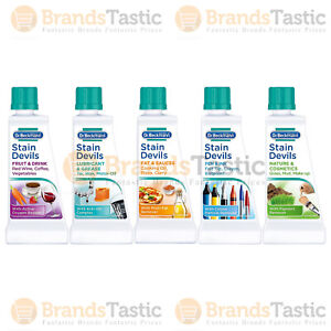 DR BECKMANN STAIN DEVILS REMOVES STAINS FAT SAUCES FRUIT GREASE INK DRINK 50ML