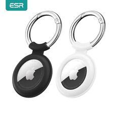ESR 2 Stück AirTag Silikon Schutz Hülle Tasche für Apple Anti-Verlust Keychain