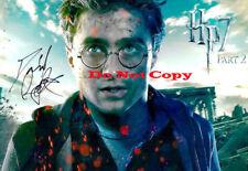 Daniel Radcliffe signed Harry Potter Signed 8x10 autographed RP