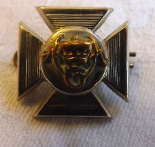An Original Victorian Military Wiltshire Collar Dog Badge Silver Plated (2180)