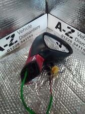 PEUGEOT 308 R Door Mirror Mk1 electric/heated 07 TO 13 LKR BABYLON RED