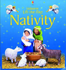 Good, Usborne Lift-the-flap Nativity, Brooks, Felicity, Book