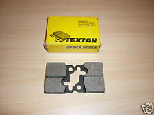 PASTICCHE TEXTAR FRENI POST BMW 525 535 628 630 CS 633 CSi BRAKE PADS PASTIGLIE