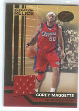 Corey Maggette, Clippers 07-08 Bowman Elevation jersey # 01/49