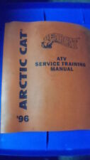 Articat Service Training Factory Manual 1996 ATVs