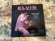 ELVIS - Raised on Rock-For Ol' times sake LP Orange Label APL1-0388