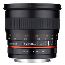 Samyang 50mm F1.4 AS UMC Fast Prime Lens: Sony/Minolta A Mount CA2530