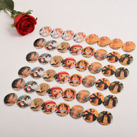 48Pcs/Set Anime One Piece Series Badge Pins Collection Set Anime Cosplay Props