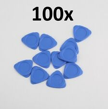 100-Pack Blue Triangular Plastic Pry Tool for Cell Phone Repair
